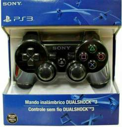 Controle Ps3 Playstation 3 Dual Shock Wirelless Sem Fio<br><br><br>