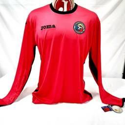 Camisa Seleção Romênia Joma Goleiro Manga Longa  Cor Pink