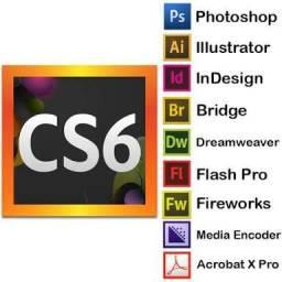Instalação Pacote Adobe cs6