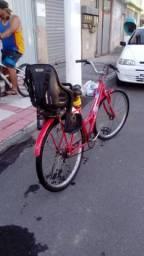 Bicicleta poty com cadeirinha!