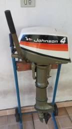 Motor de popa Johnson 4HP ano 1974