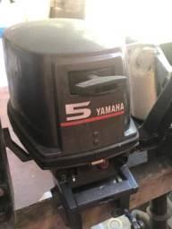 Motor yamaha 5hp