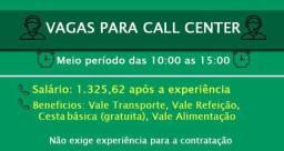 Vagas Para Atendente De Call Center: Salário R$ 1.325,62 + Benefícios