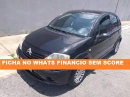 Citroen C3 2008 Financiamento com score baixa