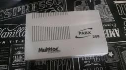 Central Pabx 208 Multitoc Telecom comprar usado  Guarulhos