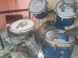 Carcaça de bateria musical acústica!