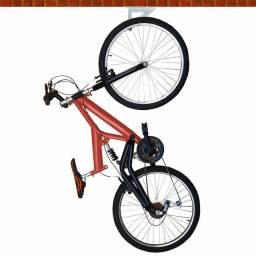 Suporte para guardar bicicleta