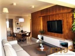 Apartamento à venda com 3 dormitórios em Setor bueno, Goiânia cod:NOV235946