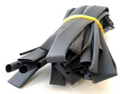 868 - Kit 4 un Espaguete Tubo Termo Retrátil polyolefin com 1 metro