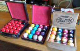 Bolas de Bilhar Antigas Importadas | Snooker/Sinuca/Numeradas | Preço do Jogo