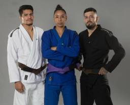 Kimono Jiu Jitsu Trançado (produtos novos)