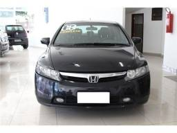 New civic preto 1.8 lxs 2008 - 2008
