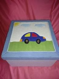 Caixa organizadora de MDF para bebe
