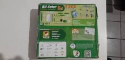 Brinquedo educativo kit solar para montar