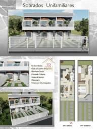AK@-Casa sobrado com dois dormitórios/São João Rio Vermelho-SC