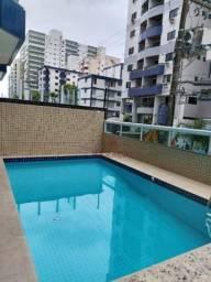 Apartamento com 2 dormitórios para alugar, 88 m² por R$ 2.200/mês - Canto do Forte - Praia