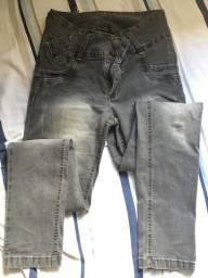 Calça jeans preta 46