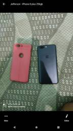 Oneplus5 de 128 e 8 de ram pra trocar em iPhone 8 plus com volta minha