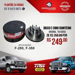 DISCO E CUBO DIANTEIRO ORIGINAL TRW FORD F-250 F-350