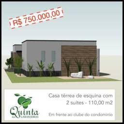 Condomínio Quinta das Laranjeiras- 2 suítes