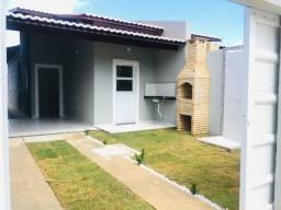 WS Linda casa prox de Messejana com 2 quartos, sendo uma suíte master e muito mais