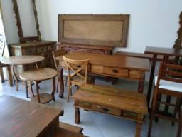 Mesas de Jantar em Madeiras Nobres de Demolição, Liquidação do Estoque, Cabo Frio