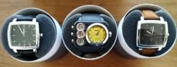 Relógios masculinos vários modelos 12x!!!