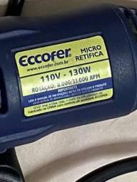 Micro Retífica Eccofer + maleta 200 acessórios