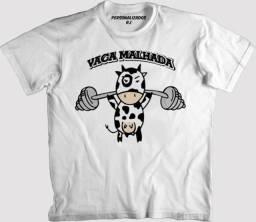 Camiseta vaca malhada