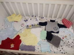 Vendo lote de roupas de bebê