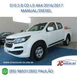Gm-chevrolet S10 2.8 CD 4X4 LS 2016/2017