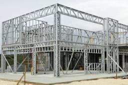 Construçao steel frame e drywall