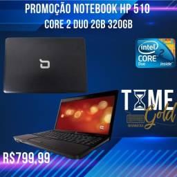 Título do anúncio: Promoção Notebook Hp 510  Core 2 Duo 2gb 320gb