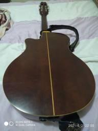 Violao Yamaha. APX-GNA Acústico pra Nylon. Ipatinga-mg