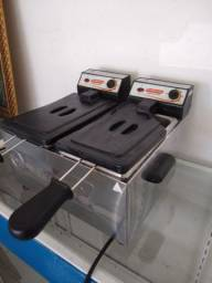 Fritadeira elétrica 2 cubas