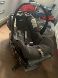Bebê conforto chicco com isofix