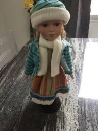 Boneca Modelo gaúcha  Porcelana