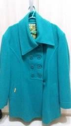 Casaco de lã batida tamanho G marca Trapiche novo.