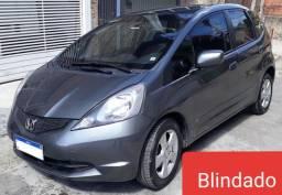 Honda Fit BLINDADO 2009 impecável