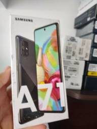 Samsung A71 128gb preto , lacrado , 1.800 reais