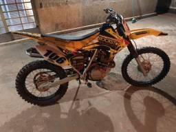 Xr200 preparada para trilha motor ok punho rapido e escap esportivo !!!