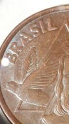 5 moedas de 5 ctvs anômalas