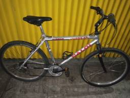Bicicleta Caloi de alumínio toda original 2 pneus novos Pirelli