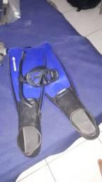 Kit de mergulho original mormaii