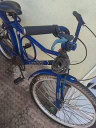 Bicicleta modelo tipo monark, marca ultra, aro 24 usado