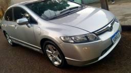 Honda Civic Lxs Flex 2008  (trocar ou vender ) aceito terreno...