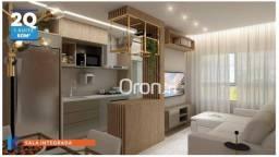 Apartamento com 2 dormitórios à venda, 66 m² por R$ 408.000,00 - Setor Central - Goiânia/G