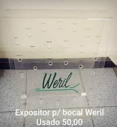 Expositor p/ Bocal Weril Usado