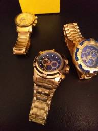 Título do anúncio: Relógios invicta ou bvlgari Super promoção