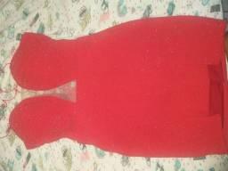 Vestido vermelho para festas